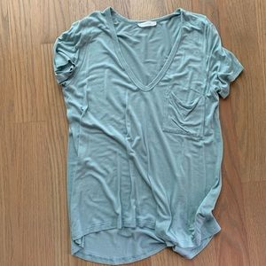 Lush light blue tee